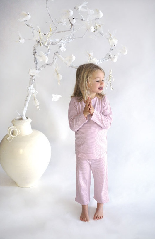 Merino Kids Long Sleeve Pyjama Set • 100% Merino • Designed for your child's comfort and safety. Merino helps regulate your baby's temperature, which means you can use merino all year round without the risk of overheating.