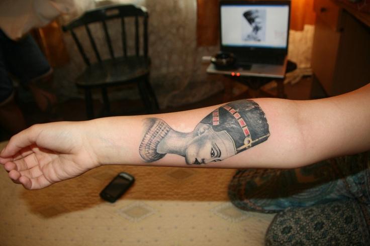 Best Nefertiti Tattoo