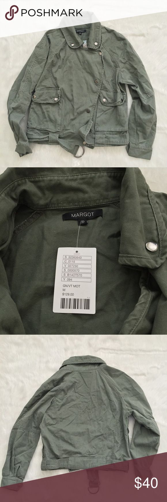 Urban Outfitters Margot Green Utility Jacket 🌟🌟Thank you for stopping by! If you have any questions, just ask! Make offers don't be shy, and please stop by again!🌟🌟 Gently pre-owned condition. No piling, or stains. Very small needle hole on back, please see photos. Urban Outfitters Jackets & Coats Utility Jackets