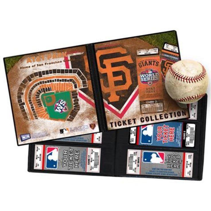 2012 World Series Ticket Album - San Francisco Giants