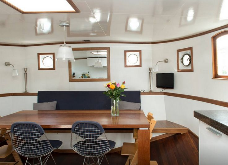 abc4537c19bf238d23992b270bd930d6--banquette-seating-houseboats Unicat Mobile Home Turned Into on barns turned to homes, small shed homes, metal building homes,