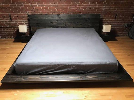 Hola Hacemos Personalizadas Y Hechas A Armazones De Fujian Orden Pls Una Notificacion Que Es Recogida Local O Entre Floating Bed Japanese Bed Frame Bed Frame
