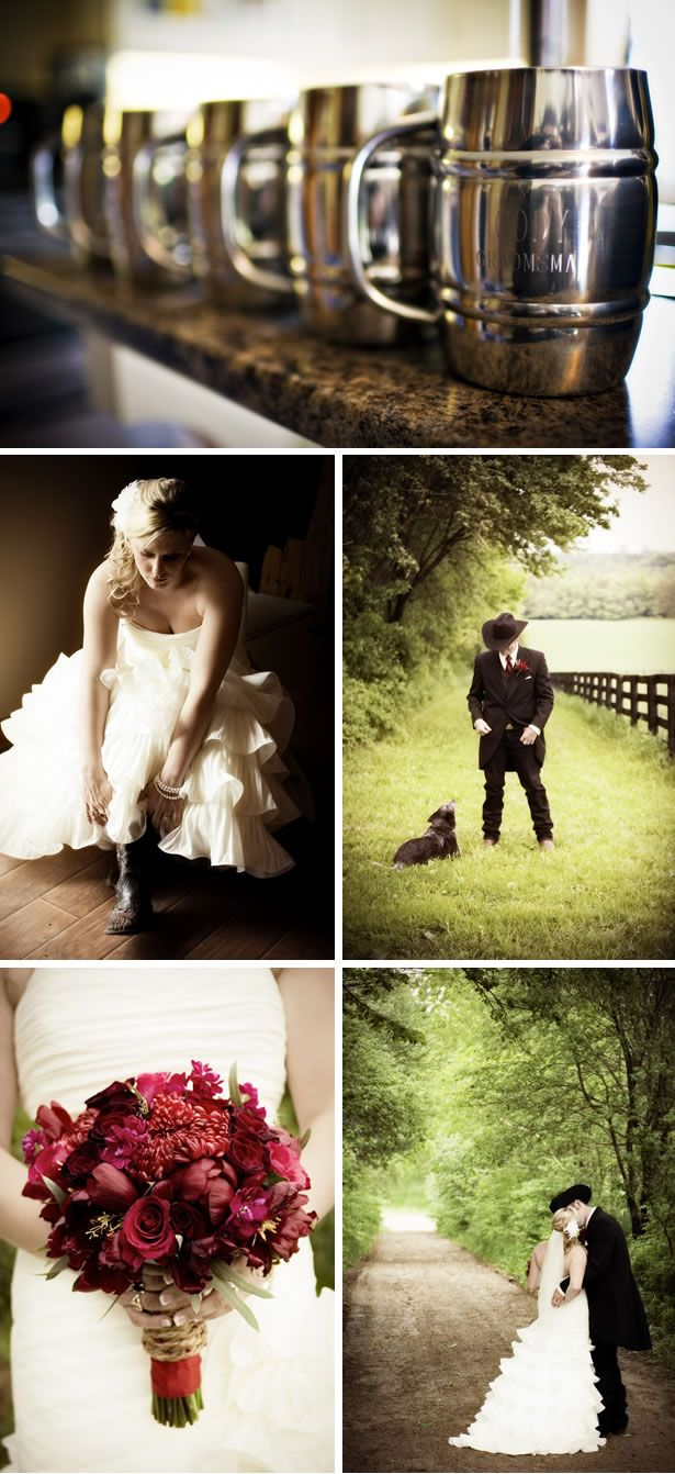 Country Western Glam Wedding by Rachel A. Clingen Wedding And Event Design - WeddingWire: The Blog