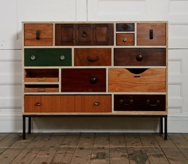 upcycled sideboard by rupert blanchard