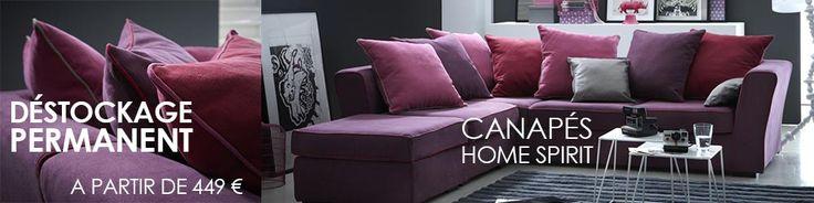 Canapé Home Spirit personnalisable à -50%