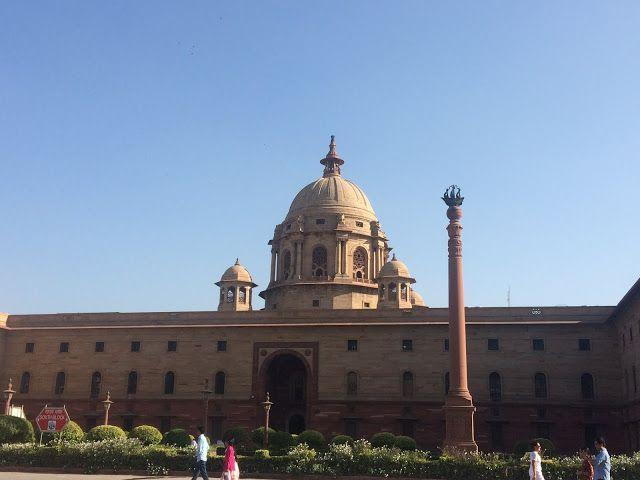 Delhi Tourism: Rashtrapati Bhavan, Mughal Garden