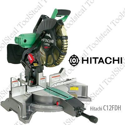 Miter and Chop Saws 20787: Hitachi C12fdh 12 Dual Compound Miter Saw With Laser Marker (Ob) W Warranty!! -> BUY IT NOW ONLY: $229.99 on eBay!
