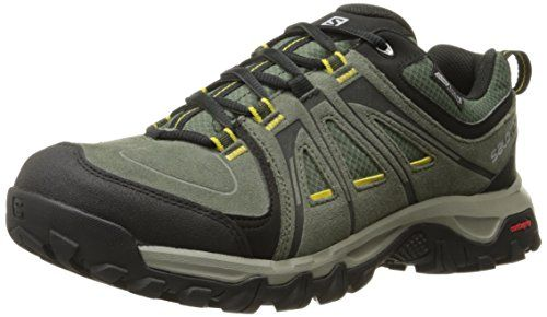 From 62.26 Salomon Men's Evasion Cs Waterproof Hiking Shoe Tempest/night Forest/ray 8 Uk (8.5 Us)