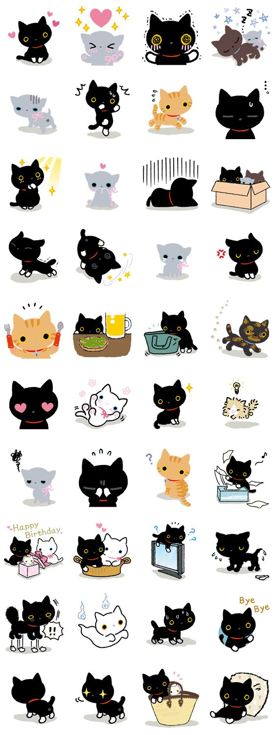 These would make some adorable stickers