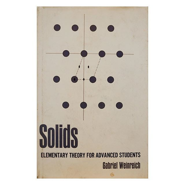 WEBSTA @ montagueprojects - #bookcover #solid #type #midcenturydesign #science #textbook