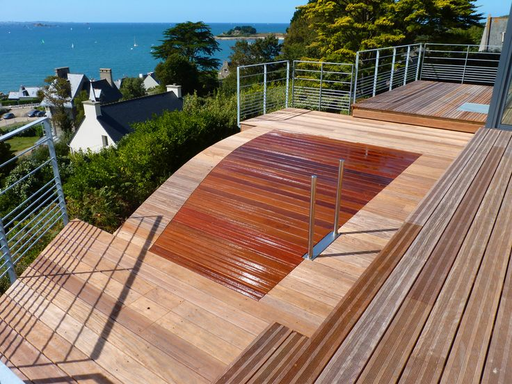 17 best images about piscines citadines on pinterest for Piscine fond mobile cout