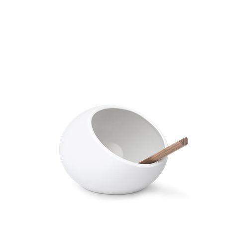 Rosendahl Saltkar Hvid, Ø 11 cm