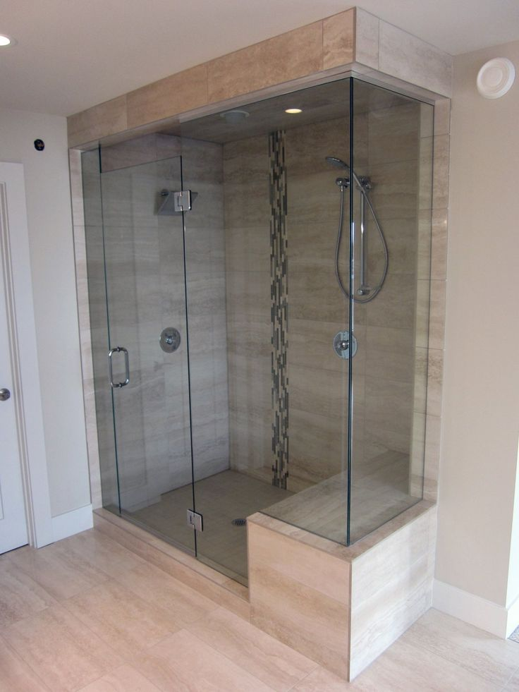 Shower Glass Door Tile Master Bath Remodel Pinterest