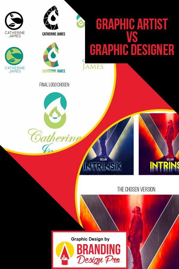 Graphic Artist Vs Graphic Designer The Difference Between A Graphic Artist Vs Graphic Designer W Graphic Artist Freelance Graphic Design Graphic Design Blog