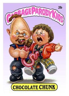 Garbage Parody Kids - Chocolate Chunk  A parody from Garbage Pail Kids series