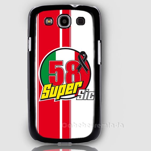 Marco Simoncelli 58 Super Sic Samsung Galaxy S3 Case for sale ($24.00) - Svpply