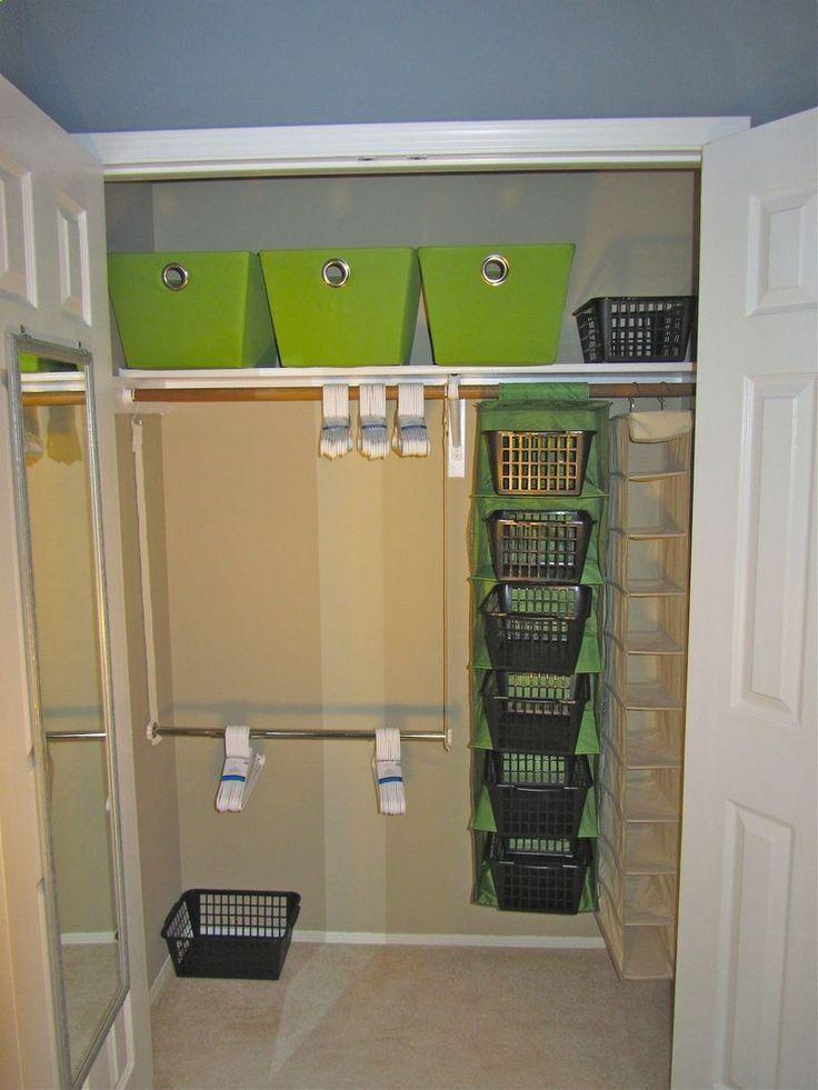 Small Closet Organization Ideas Clothing Storage