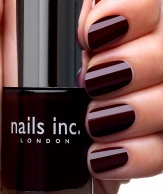 Nails Inc - Victoria (swatched on one nail)