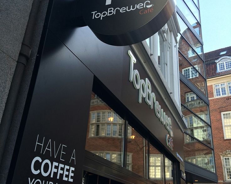 TopBrewer Cafe - The world's first app contolled cafe