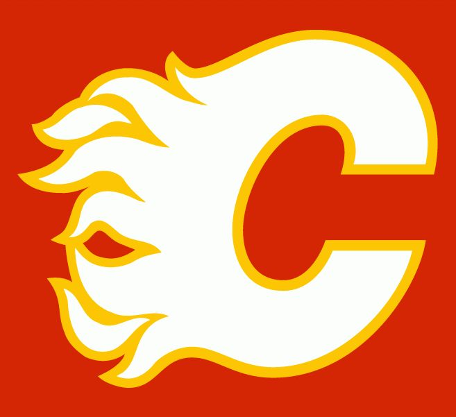 Calgary Flames alternate logo 1980-94