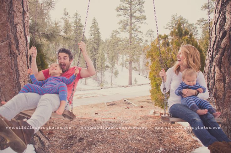 a log cabin in the snow & a feather bed with the BROOKE family!!!   Wildflowers Photography