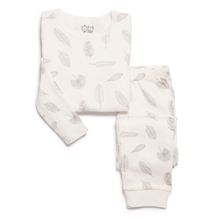 Soft and warm, our tiny leaf kids pyjama set is made from 100% organic cotton. With long sleeve top and pant.   #wilsonandfrenchy #babystyle #kidssleepwear #pyjamas #organiccotton #baby #fashion #unisex #babylove #perfectbabies  #unisexbabyclothes  #newmum #babygift #babyshower #australiandesign #shopbaby #mumsunite #babylove #magicofchildhood #little