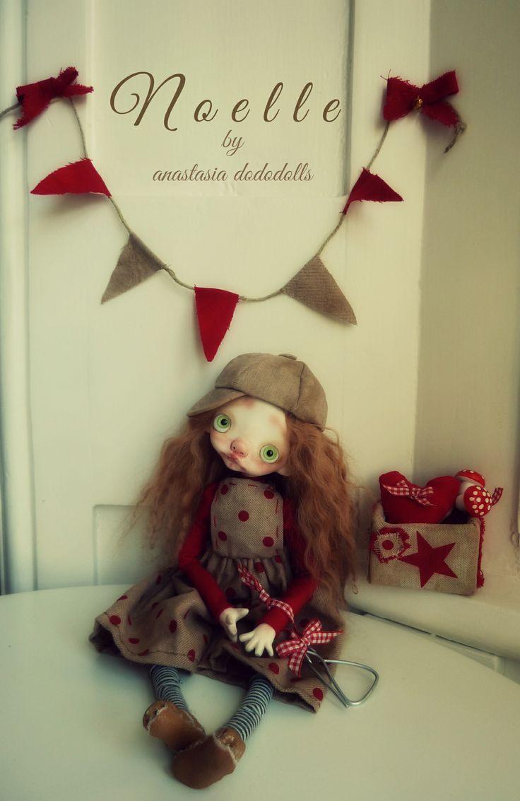 Noelle by anastasia dododolls