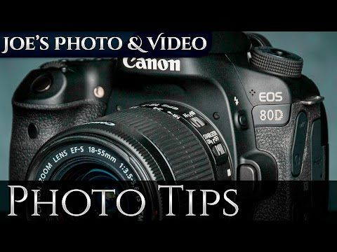 Canon EOS 80D: How To Set Camera Focus Points & AF Modes | Photography Tips - YouTube