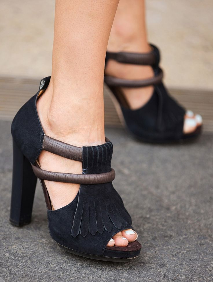 Stop traffic with any of these gorgeous shoes spotted at #NYFW