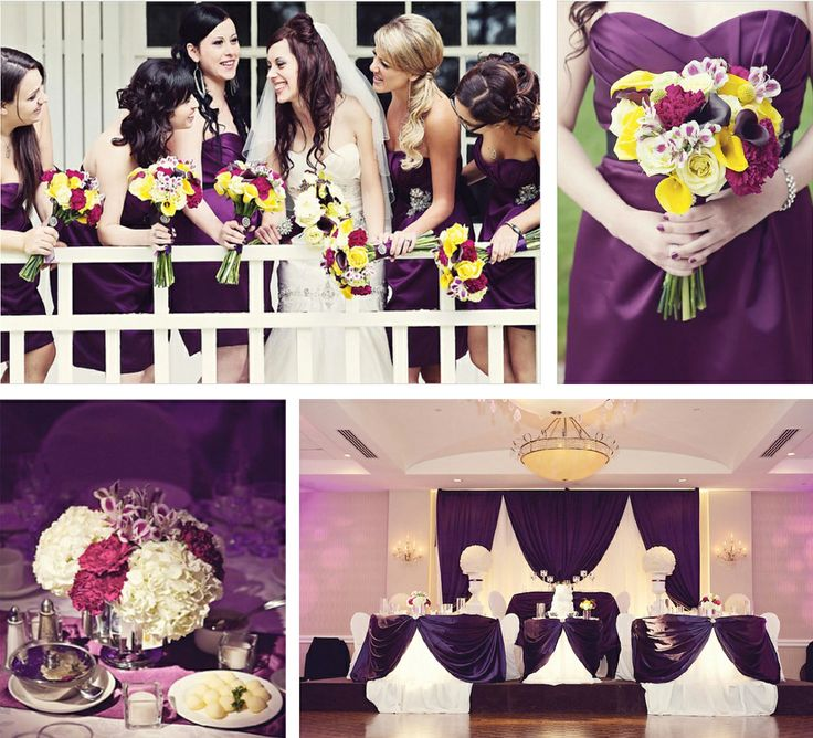 Eggplant Color Schemes: 14 Best Wedding Color Crush: Mustard And Eggplant Images