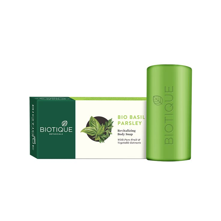 Biotique Basil and Parsley Body Cleanser Soap 150 gm