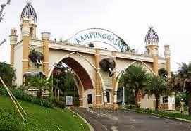 Wonderland fun park, Kampung Gajah Bandung.