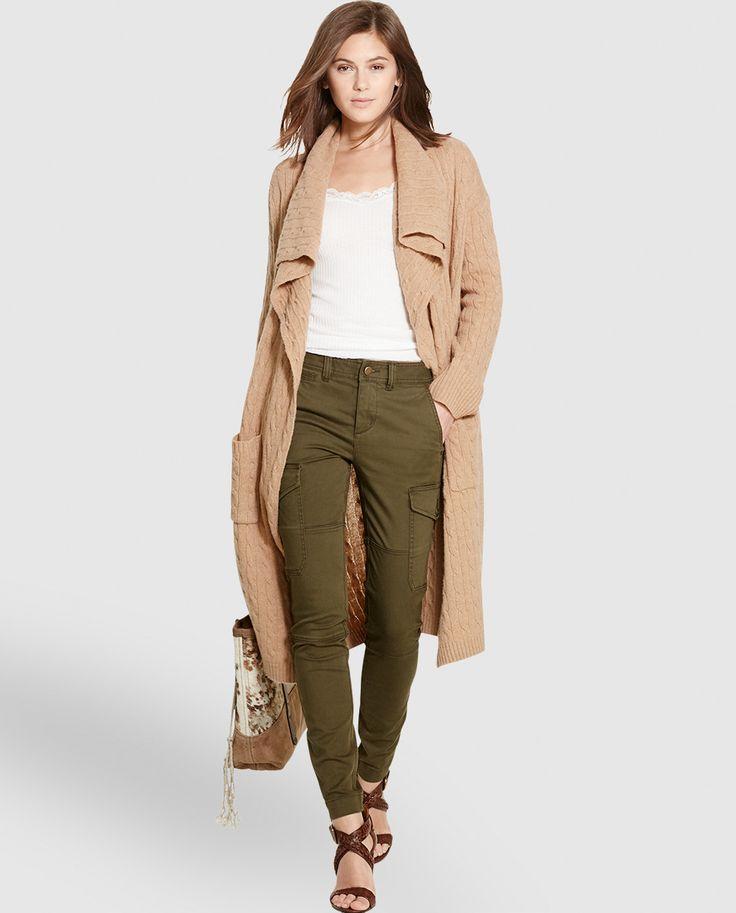 Pantalón pitillo de mujer Polo Ralph Lauren tipo cargo
