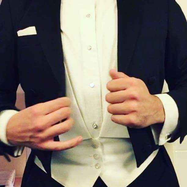 Getting ready in white tie …   #tux #tuxedo #whitetie #formal #formalwear #tails #ballroom #dressshoes #dress #suit #dressedup #dapper #patentleathershoes #shinyshoes #menatplay #tuxplay #suited #brogues #zapatosdevestir #frack #groom #meninsuits #gentleman