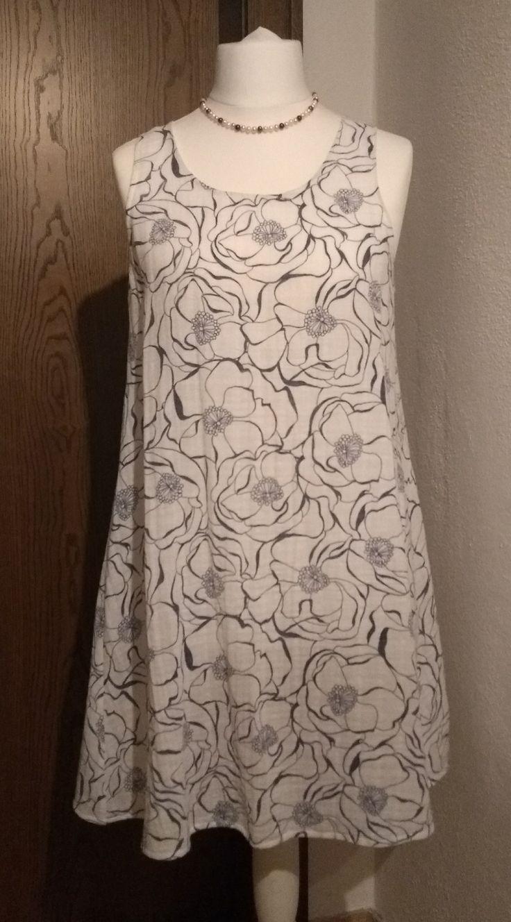Kostenloses Schnittmuster und Nähanleitung für eine Bluse oder Kleid #schnittm…