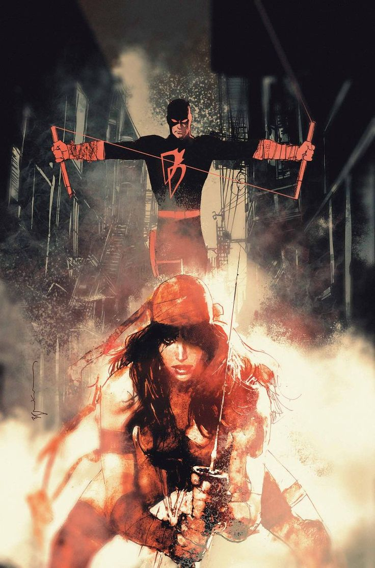 All-New Daredevil and Elektra by Sienkiewicz