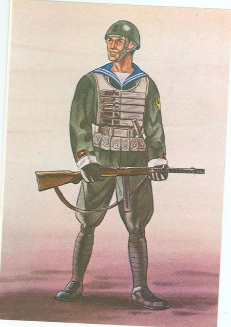 Regia Marina - Marinaio, Battaglione Paracadutisti di Marina, 1941 - pin by Paolo Marzioli