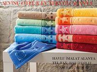 Turistik havlu imalatı Alanya siparişler 0544 717 40 17 Üzerinde Alanya Türkiye yazan türistik hediyelik havlu imalatı  iş yerinize servis yapıyoruz