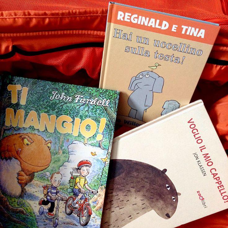 3 libri divertenti di sicuro successo per una lettura ad alta voce. Patrizia ci racconta i suoi cavalli di battaglia come lettrice Nati per Leggere!