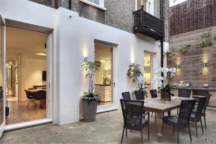 HOLLAND PARK AVENUE, London, 2007 by DOSarchitects  #architecture #design #london #uk #interiors #terrace