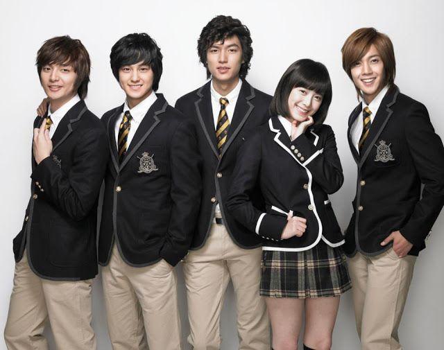 Boys Over Flowers Meteor Garden And Hana Yori Dango Over The Years Dramapanda Boys Before Flowers Boys Over Flowers Lee Min Ho