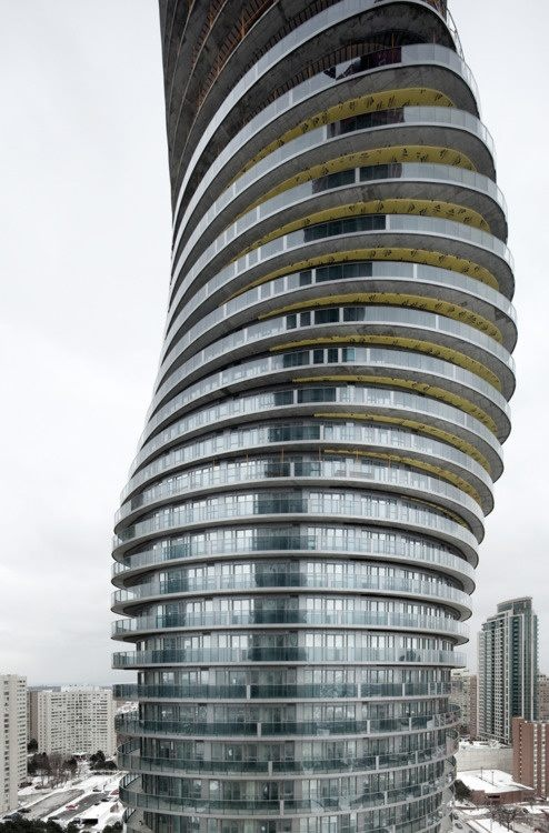 Residential tower in Toronto, Canada.