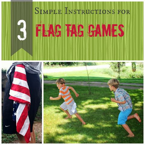 Flag tag is a common favorite kids' game. How to play three different versions.  Find a fourth version here: http://www.playworks.org/make-recess-count/games/arenaflag-tag
