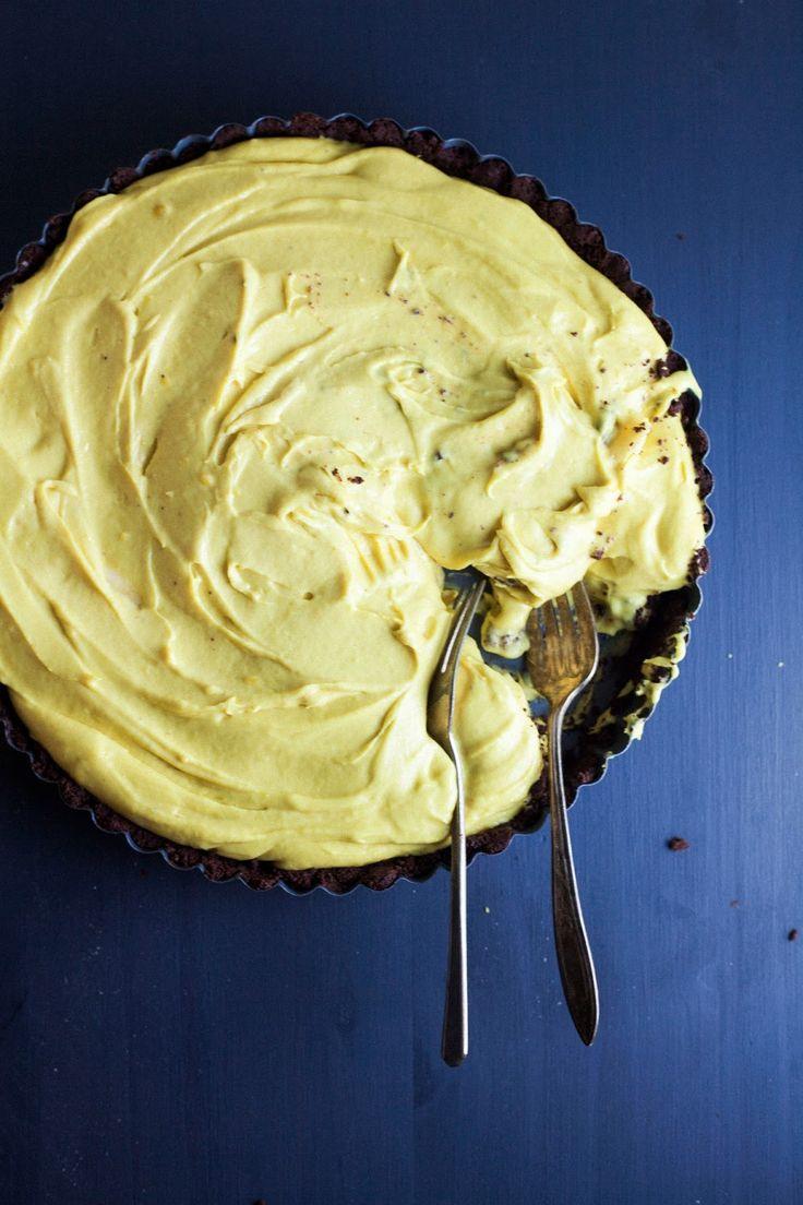 Momofuku Milk Bar Banana Cream Pie: use maple instead of sugar.