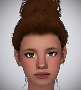 Lana CC Finds - lilith-sims:  Simple Hairline - Poppet's V2...