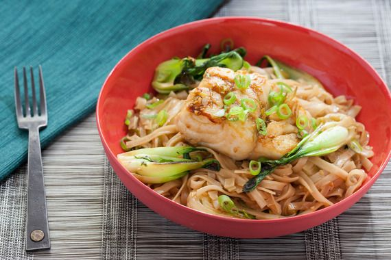 40 best pan sear fish recipes images on pinterest for Rice noodle fish