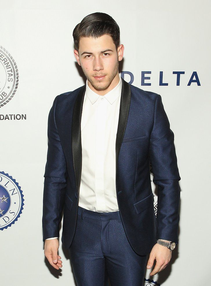 Pin for Later: 21 Nick Jonas Moments That Might Actually Make You Light-Headed This Ravishing Red Carpet Moment
