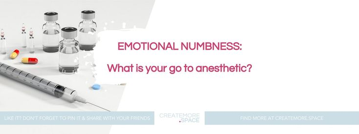 """**N E W _B L O G _ P O S T **   Just published over on CreateMore.Space: """"Emotional Numbness: What is your go to anesthetic?""""    Ummm….. I went and lost my flow again. If I am truthful I have been feeling something similar to emotional numbness for the past few weeks but am starting to come out of it.  I am forcing myself to sit and write to you or I may never write again. I have no idea what I want to say, or what will come out but if I don't sit down and try then I won't break the silence…"""
