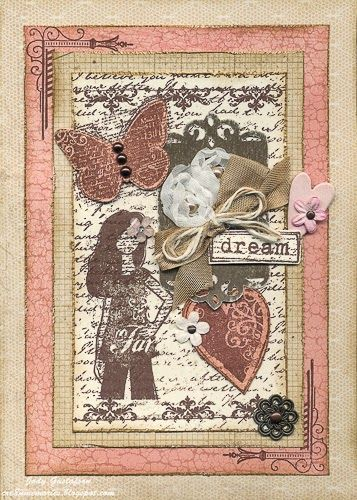 Cre8n' Memories: Shabby Chic Time