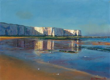 "Saatchi Online Artist brian homewood; Painting, ""SOLD kingsgate bay morning light"" #art"